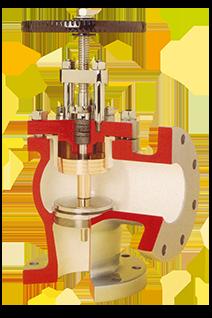 Crown head valve