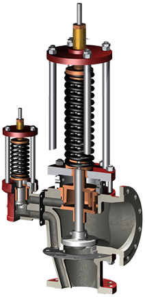 Double Action safety valve