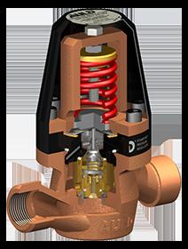 Standfast pressure regulator