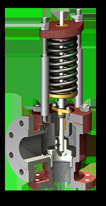 Vigilant safety valve